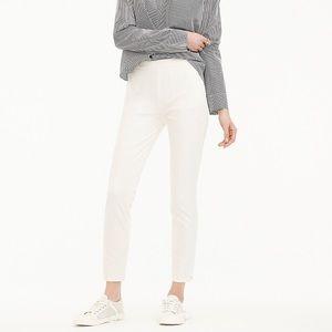 J.Crew Womens Martie Slim Crop Pant Bi-Stretch 8